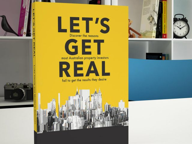 The book Lets get real by The Property Mentors 2